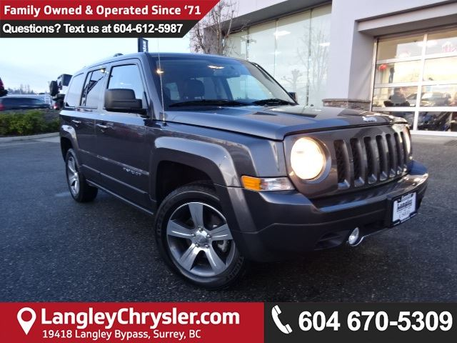 2017 JEEP PATRIOT Sport/North *ACCIDENT FREE*ONE OWNER*LOCAL BC JEEP* in Surrey, British Columbia