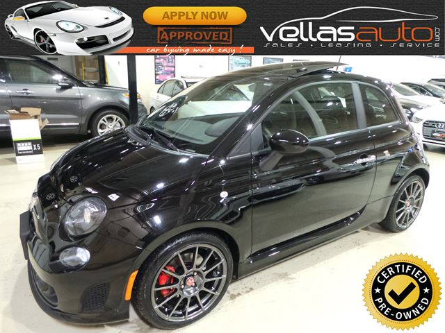 2015 FIAT 500 ABARTH| PANO RF| 9,242KM| AUTOMATIC in Vaughan, Ontario