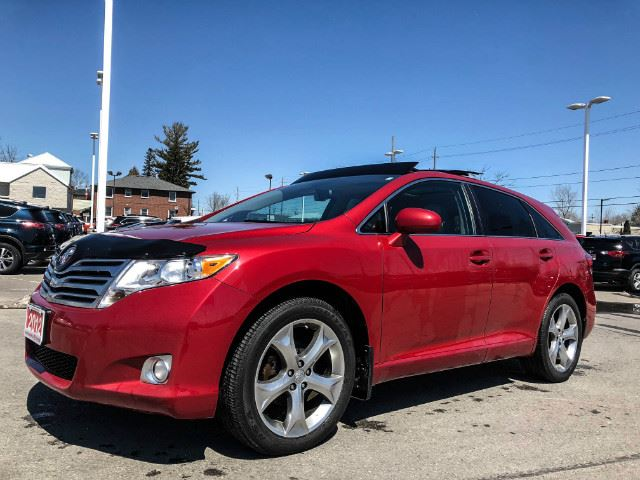 2012 TOYOTA VENZA XLE V6 AWD-LEATHER+PANO SUNROOF! in Cobourg, Ontario