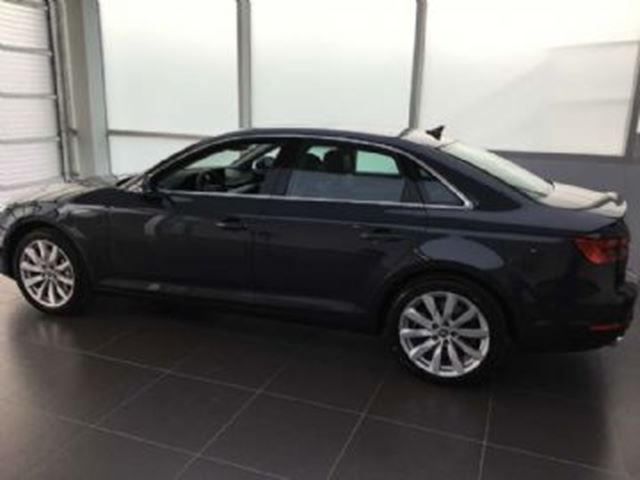 2017 AUDI A4 2.0 TFSI Quattro Komfort, Audi Care, Excess Wear Protection in Mississauga, Ontario