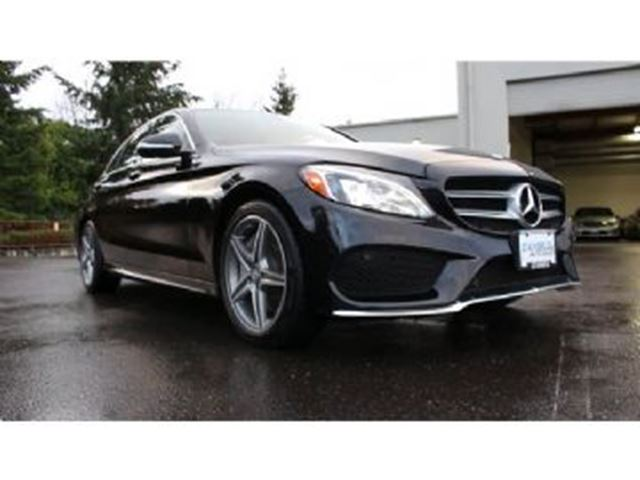 2016 MERCEDES-BENZ C-CLASS 300 4MATIC Sport AMG, Premium Packs + Full Protections in Mississauga, Ontario