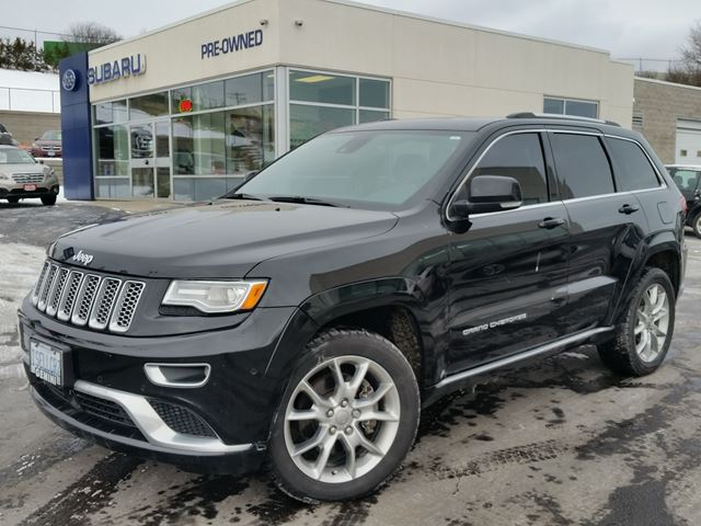 2015 JEEP GRAND CHEROKEE Summit 4x4 eco-diesel in Kitchener, Ontario