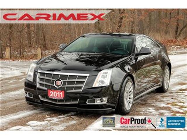 2011 CADILLAC CTS Base ONLY 57K   AWD   CERTIFIED in Kitchener, Ontario