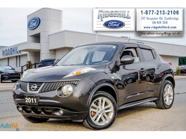 2011 NISSAN JUKE SL  AWD  NAV  LEATHER  MOONROOF in Cambridge, Ontario