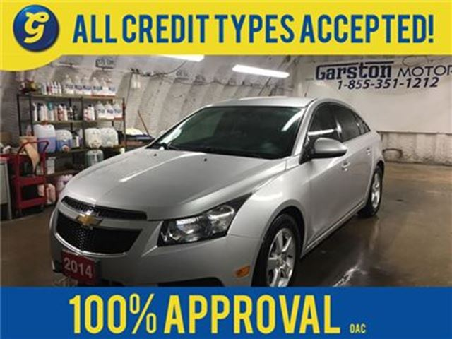 2014 CHEVROLET CRUZE 2LT*TURBO*LEATHER*BACK UP CAMERA*MY LINK PHONE CON in Cambridge, Ontario