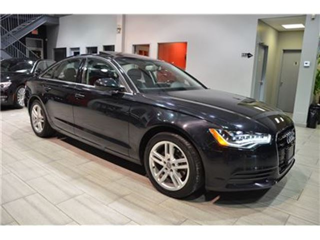 2013 AUDI A6 2.0T Premium 1 Owner Car With Only 46.346 Kms! in Oakville, Ontario