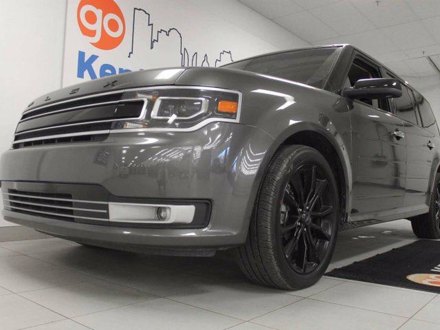2017 FORD FLEX Limited AWD with NAV, sunroof, power liftgate, power leather seats and a back up cam in Edmonton, Alberta