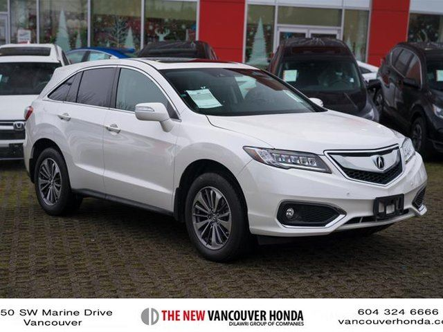 2016 ACURA RDX Elite at in Vancouver, British Columbia