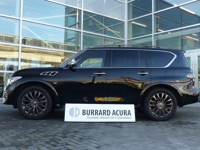 2016 INFINITI QX80 7-Passenger Technology Limited in Vancouver, British Columbia