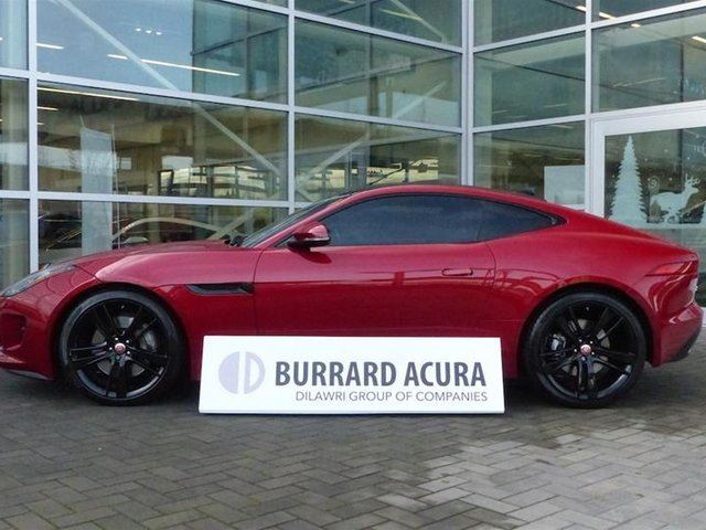 2017 JAGUAR F-TYPE Coupe at in Vancouver, British Columbia