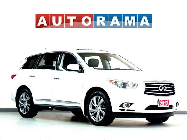 2013 INFINITI JX NAVIGATION BACKUP CAM LEATHER SUNROOF 7 PASS 4WD D in North York, Ontario