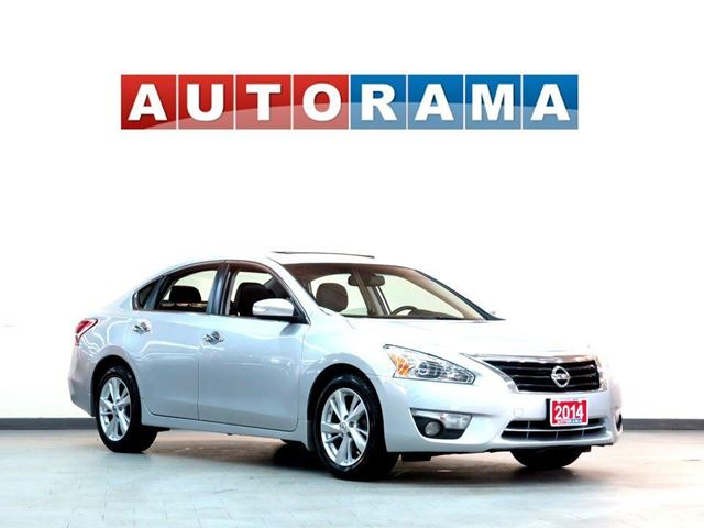 2014 NISSAN ALTIMA SL NAVIGATION LEATHER SUNROOF BACKUP CAMERA in North York, Ontario