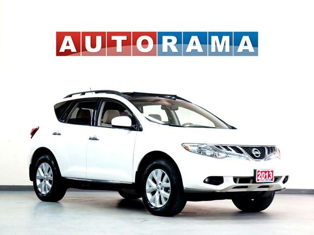 2013 NISSAN Murano SV PANORAMIC SUNROOF BACKUP CAMERA 4WD in North York, Ontario