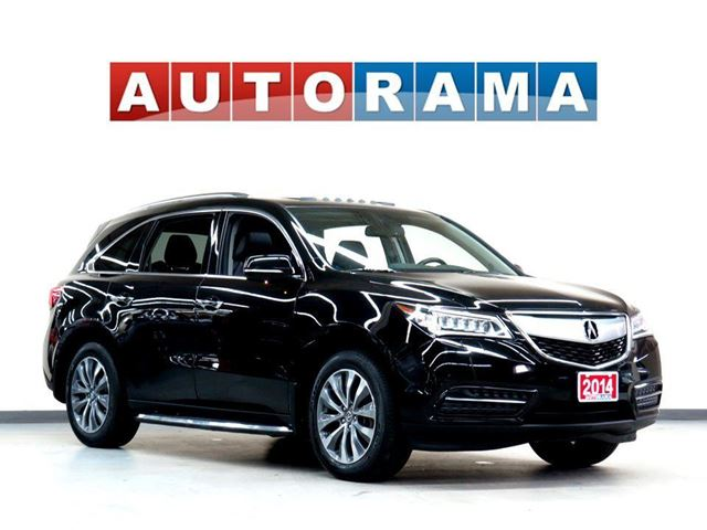 2014 ACURA MDX TECH PKG NAVIGATION LEATHER SUNROOF 7 PASS 4WD in North York, Ontario