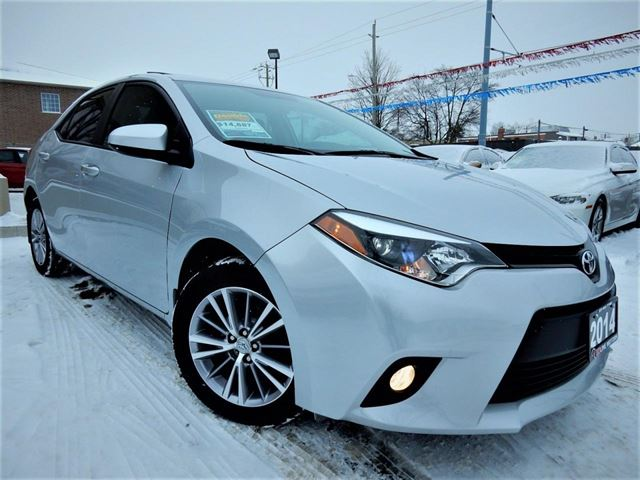 2014 TOYOTA COROLLA LE  AUTO  LEATHER.ROOF  ONE OWNER  83KM in Kitchener, Ontario
