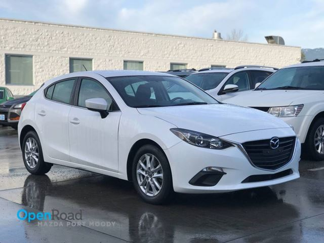 2015 MAZDA MAZDA3 GS HB A/T Local Bluetooth USB AUX Navi Criuse C in Port Moody, British Columbia