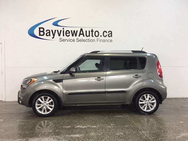 2013 KIA SOUL 2U- 6 SPEED|ALLOYS|HTD STS|BLUETOOTH|CRUISE! in Belleville, Ontario