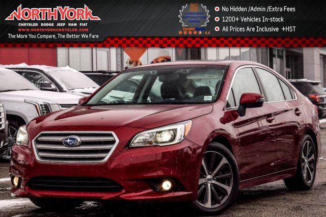 2015 SUBARU Legacy 3.6R with Limited & Tech Pkg Sunroof Nav. Adpt.CruiseControl 18Alloys in Thornhill, Ontario