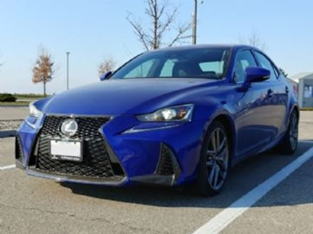2017 LEXUS IS 300 AWD F-Sport Series 1 in Mississauga, Ontario
