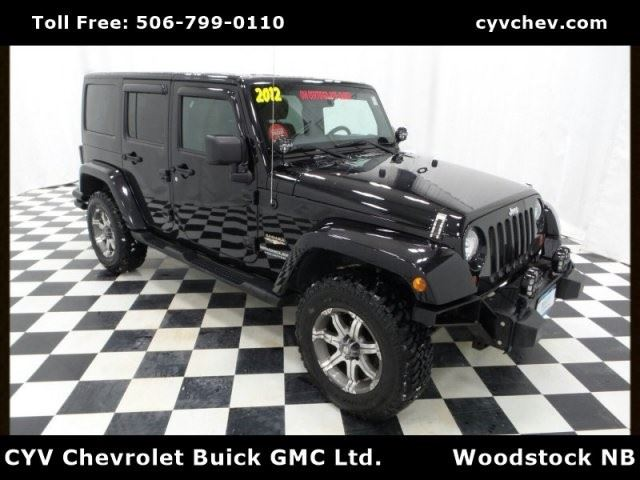2012 JEEP Wrangler Unlimited Altitude in Woodstock, New Brunswick