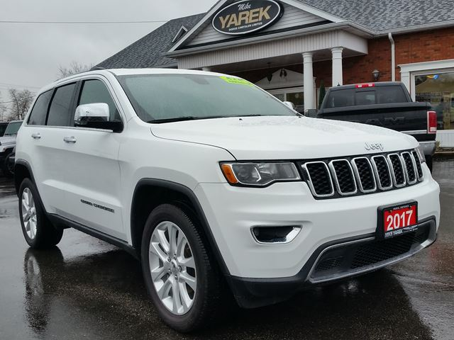 2017 JEEP GRAND CHEROKEE Limited 4x4, Sunroof, Remote Start, Back Up Cam, Heated Seats/Wheel in Paris, Ontario