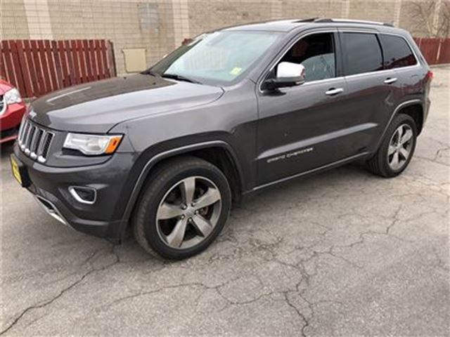 2014 JEEP GRAND CHEROKEE Overland, Auto, Navigation, Leather, in Burlington, Ontario