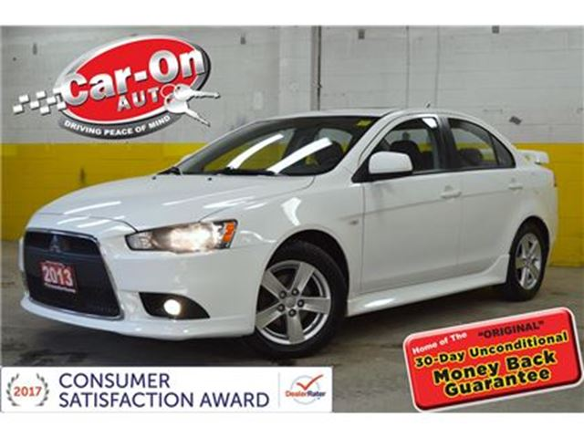 2013 MITSUBISHI LANCER SE AWC LEATHER SUNROOF HEATED SEATS in Ottawa, Ontario