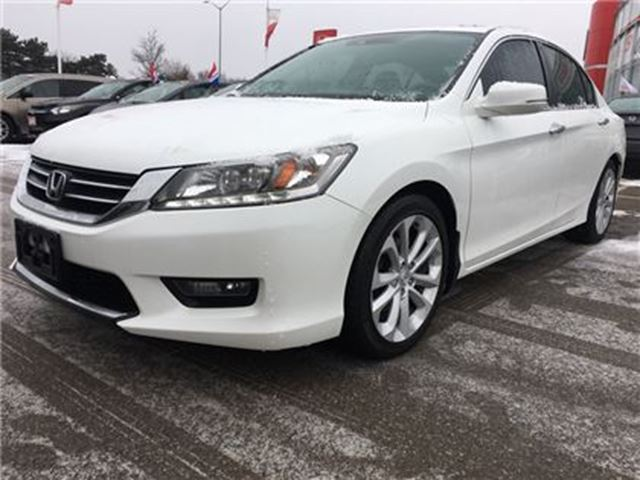 2014 HONDA Accord  Touring l One Owner l Leather Seats in Mississauga, Ontario