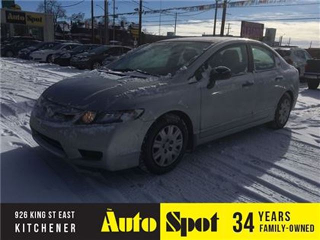 2010 HONDA CIVIC DX-A/LOW, LOW KMS/PRICED FOR A QUICK SALE in Kitchener, Ontario