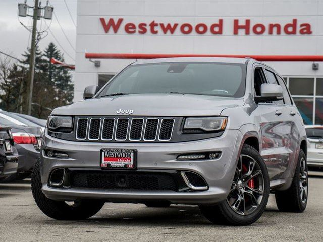 2015 JEEP GRAND CHEROKEE SRT in Port Moody, British Columbia