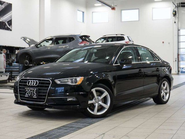 2015 AUDI A3 Komfort 1.8L Turbo in Kelowna, British Columbia