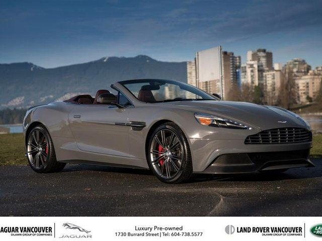 2014 ASTON MARTIN VANQUISH Volante Touchtronic in Vancouver, British Columbia