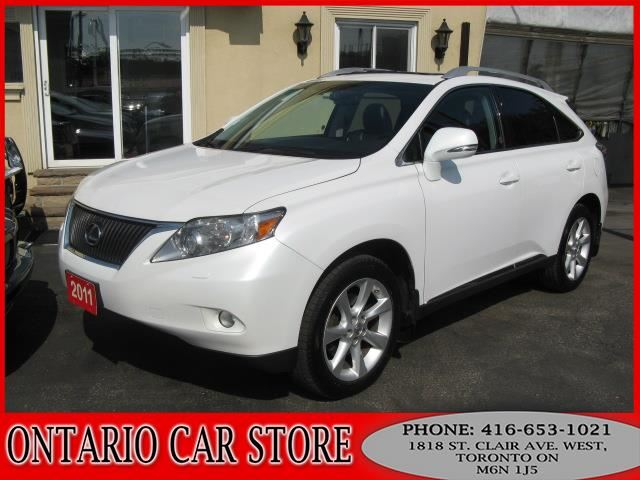 2011 LEXUS RX 350 AWD NAVIGATION SUNROOF !!!NO ACCIDENTS!!! in Toronto, Ontario