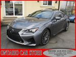 2015 Lexus RC F 2DR Coupe NAVIGATION in Toronto, Ontario