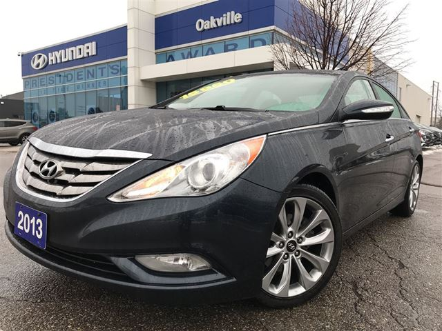 2013 HYUNDAI SONATA LIMITED  2.0T  LEATHER  NAVI  ONE OWNER in Oakville, Ontario