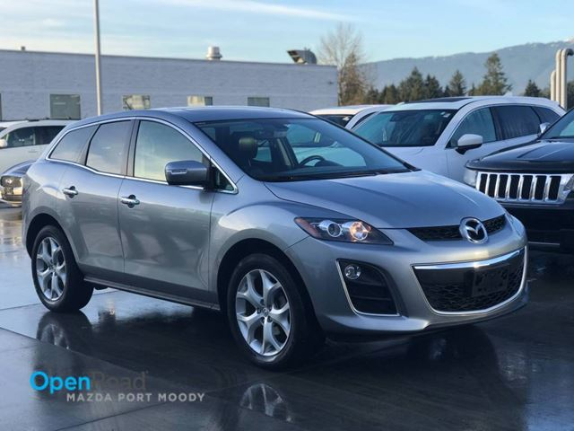 2011 MAZDA CX-7 GT AWD A/T Local One Owner Bluetooth AUX Leathe in Port Moody, British Columbia