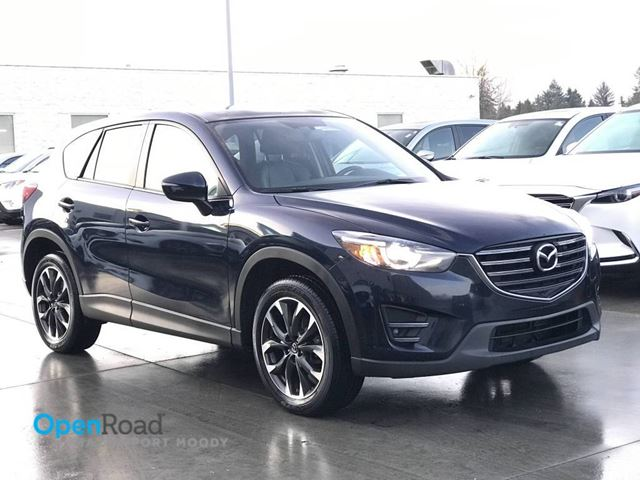 2016 MAZDA CX-5 GT AWD A/T Local Bluetooth USB AUX Navi Leather in Port Moody, British Columbia