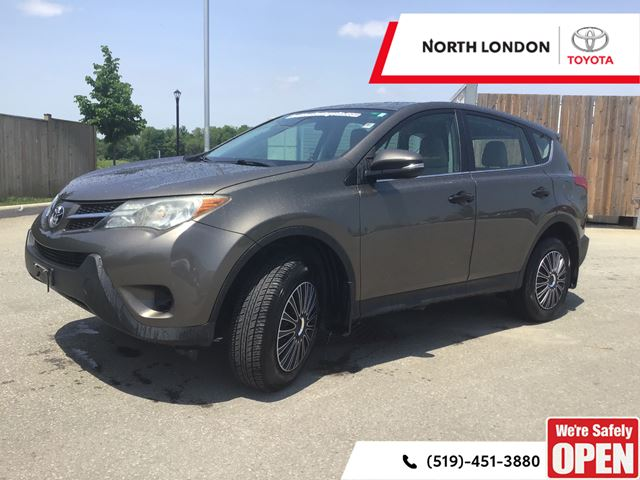 2013 TOYOTA RAV4 LE One Owner, Toyota Serviced in London, Ontario