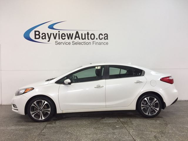 2014 KIA FORTE EX- ALLOYS|SUNROOF|HTD STS|REV CAM|BLUETOOTH! in Belleville, Ontario