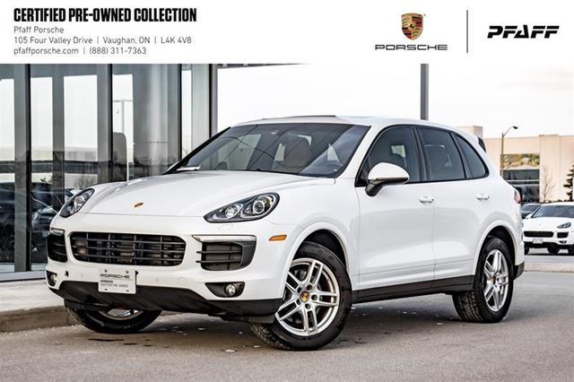 2018 PORSCHE CAYENNE Platinum Edition in Woodbridge, Ontario