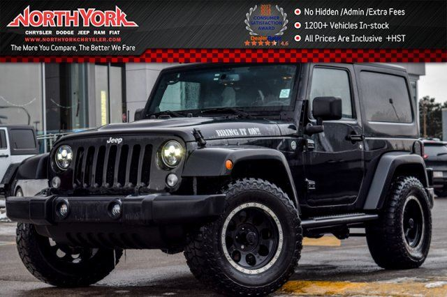 2014 JEEP WRANGLER Sport AccidentFree TowHitch KeylessEntry PwrLocks&Windows 17Alloys in Thornhill, Ontario