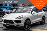 2011 Porsche Cayenne Turbo AWD Carbon Interior,Sport Pkgs Burmester Sunroof 18Alloys in Thornhill, Ontario