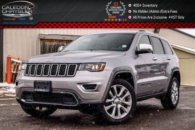 2017 JEEP GRAND CHEROKEE Limited in Bolton, Ontario