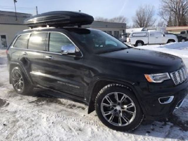 2017 JEEP GRAND CHEROKEE Overland, 5.7L, Fully Loaded, AWD in Mississauga, Ontario