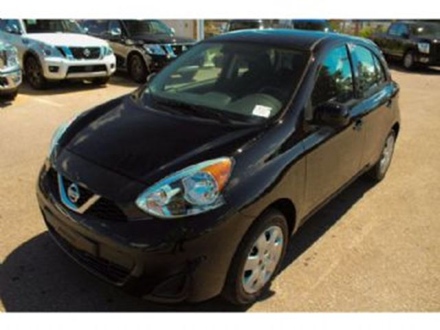 2017 NISSAN MICRA SV 1.6L 4 CYL 109HP CVT in Mississauga, Ontario