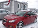 2011 Chevrolet Cruze FREE FREE !! 4 NEW WINTER TIRES OR 12M.WRTY+SAFETY $6990 in Ottawa, Ontario
