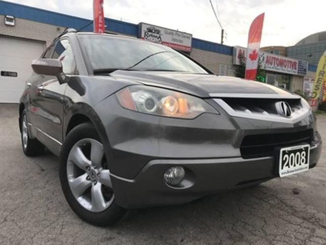 2008 ACURA RDX Accident Free_Leather_Sunroof_ Warranty in Oakville, Ontario