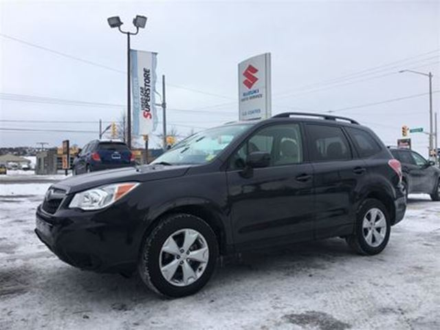2016 SUBARU FORESTER AWD ~Heated Seats ~P/Seat ~Top Safety Scores in Barrie, Ontario