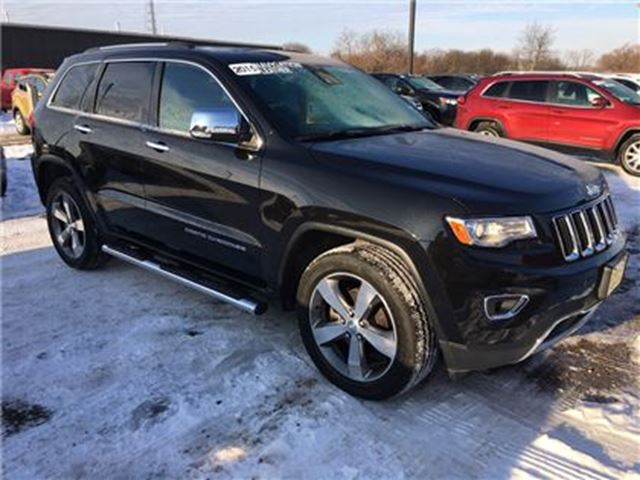 2015 JEEP GRAND CHEROKEE Limited, Automatic, Navigation, Leather, 4*4 in Burlington, Ontario