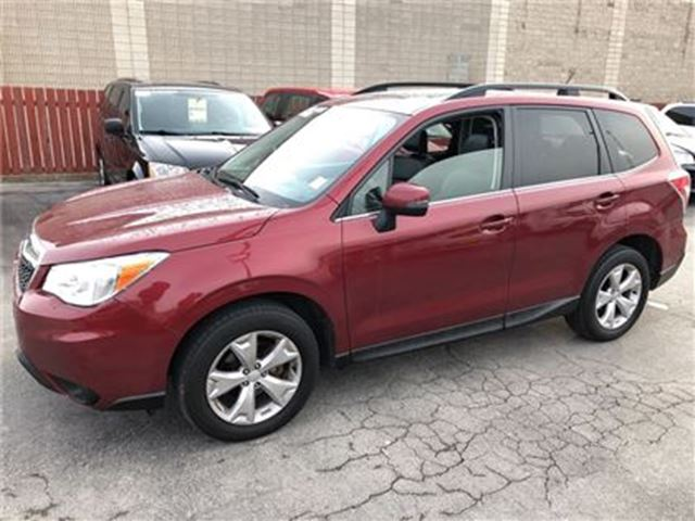 2014 SUBARU Forester 2.5i Touring, Automatic, Leather, Pan Roof, AWD in Burlington, Ontario